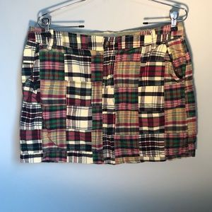 Old Navy Multi-Color patchwork plaid shorts